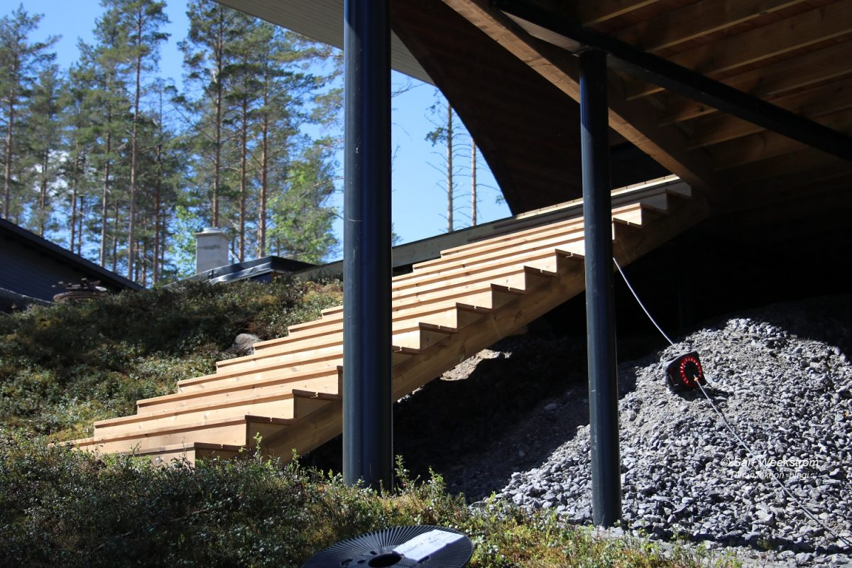 Mikkelin asuntomessualueen pihat kesäkuussa